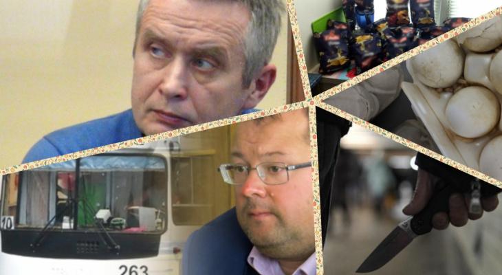 Владимир за день: яйца с опарышами, дебошир и директор-мошенник