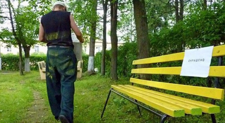 Во Владимире общественники собираются установить лавочки