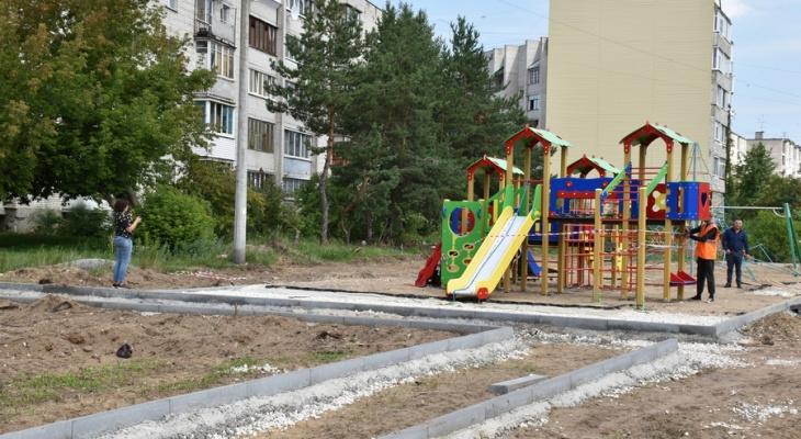 Работы в разгаре: в сквере на Чайковского новый виток благоустройства