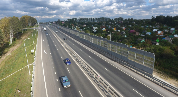 Вниманию автомобилистов: 9 августа перекроют М-7