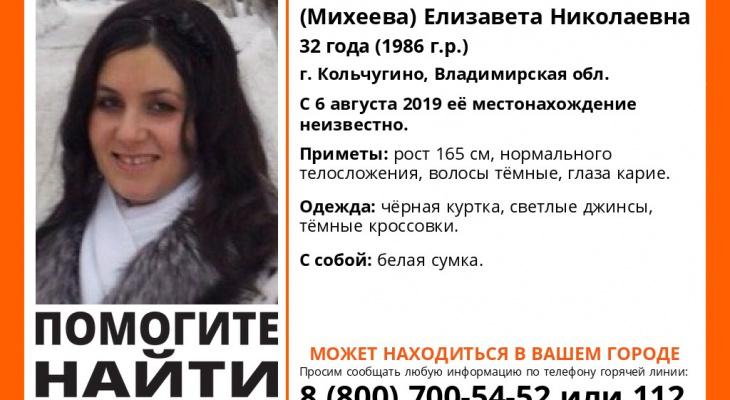 Владимир, внимание: объявлены поиски женщины с белой сумкой!