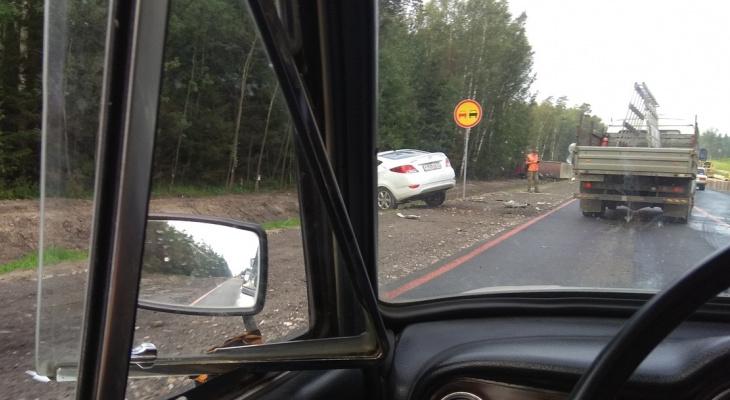 Проклятое место: под поселком Болдино в Петушинском районе снова авария