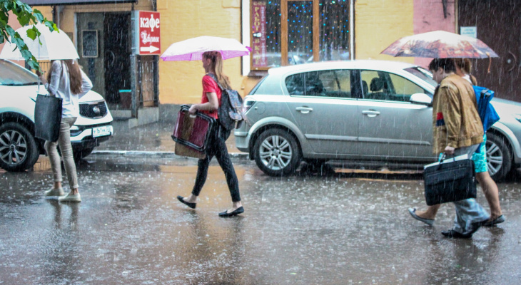 Погода на 22 августа:  гроза испортит всю радость от тепла
