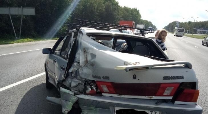 В ДТП на повороте к аэропорту Семязино пострадала 6-летняя девочка