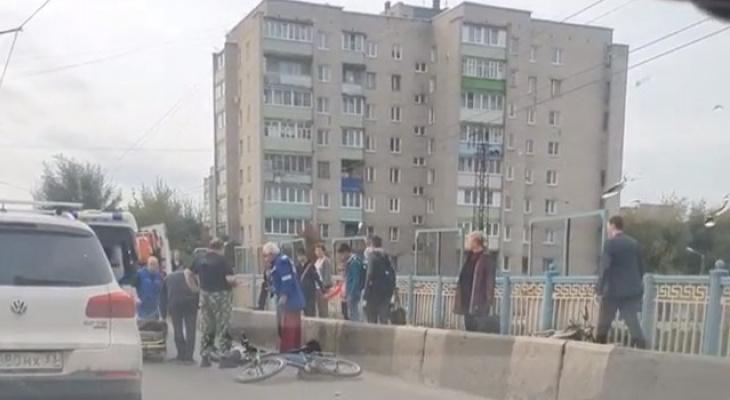 В Коврове под колесами автобуса погиб велосипедист