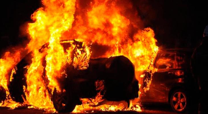В Суздальском районе сгорел человек в машине