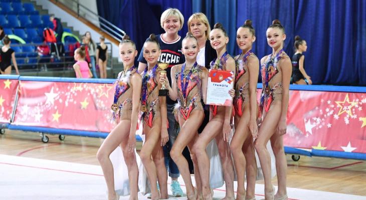 Владимирские гимнастки завоевали «золото» на всероссийских соревнованиях