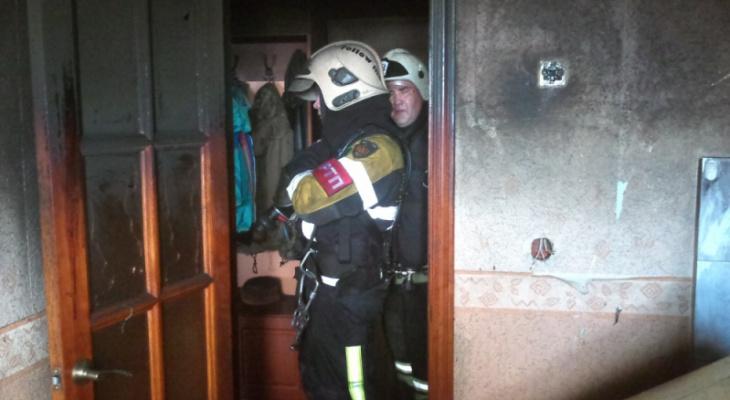 Ночной пожар в многоэтажке в Собинке: стали известны последствия