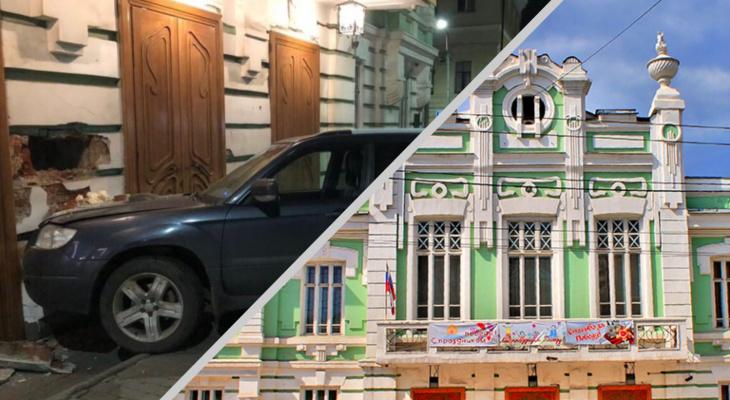 Стало известно, в какую сумму обойдется ремонт фасада театра кукол после ДТП