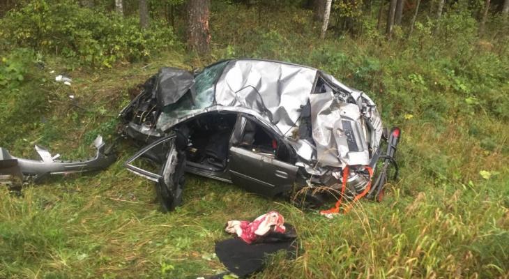 Проклятое место: в Ковровском районе две машины перевернулись на одном участке дороги