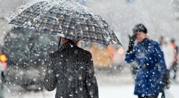 Во Владимире выпал снег. Что ещё ожидать от октября?