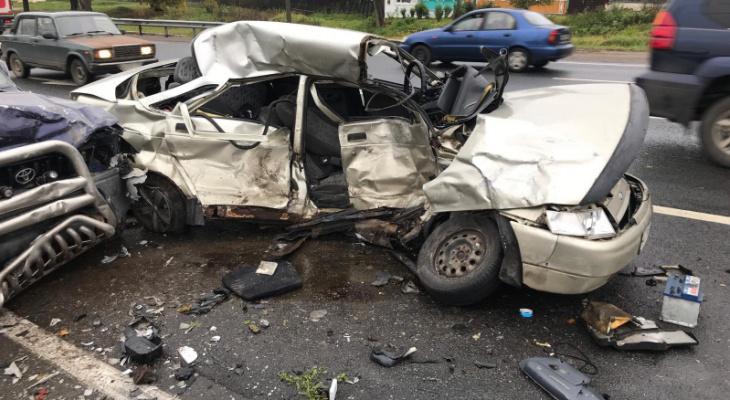Во Владимирской области в ДТП погибли 7 человек