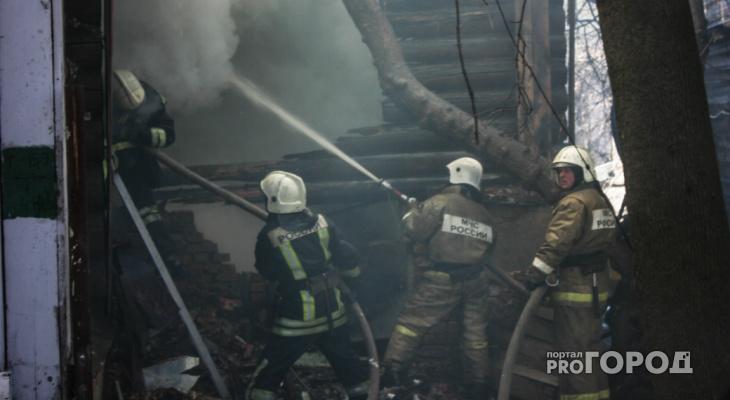 17-летний житель Владимирской области пострадал в пожаре