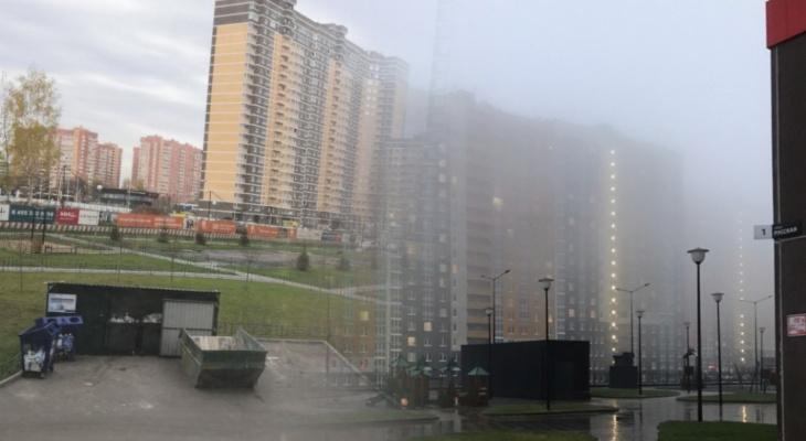 Московская мусорка и таинственный нижегородский туман: владимирцы передают фото приветы из разных городов России
