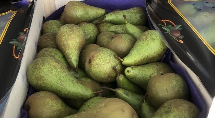 Из владимирского гипермаркета изъяли и уничтожили все груши