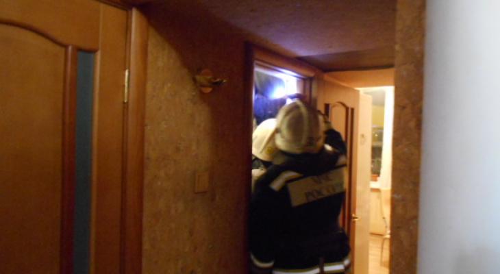 Ночью в доме на проспекте Строителей случился пожар