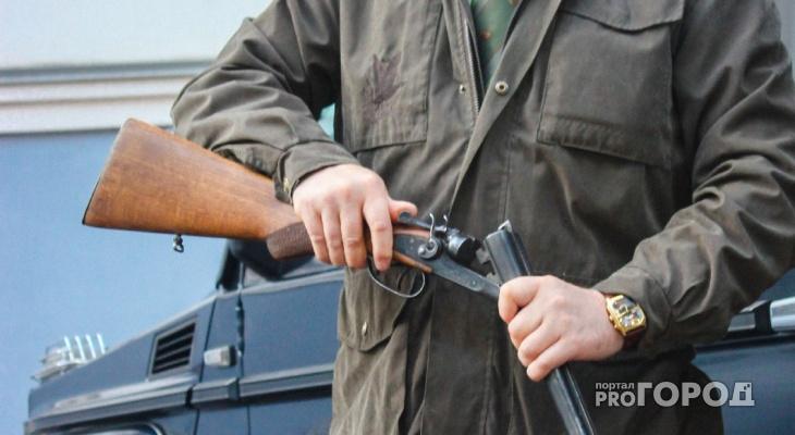 Ехал на велосипеде с ружьем: полиция задержала жителя Меленковского района