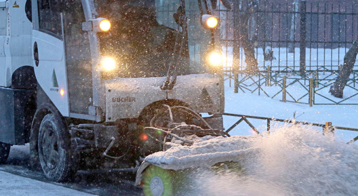 Во Владимире мэрия не будет покупать снегоуборочную технику