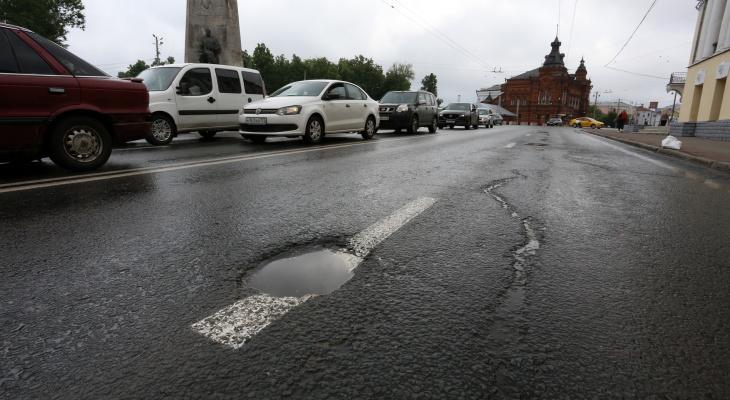 Во Владимирской области только каждая третья дорога соответствует нормативам