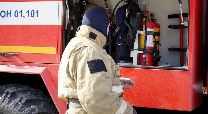 Ночью в доме на Чайковского случился пожар