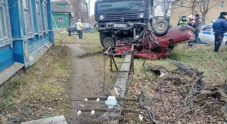 Жуткое ДТП в Коврове: двое погибших