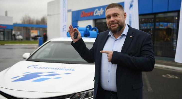 Владимирец выиграл новенькую Toyota Camry