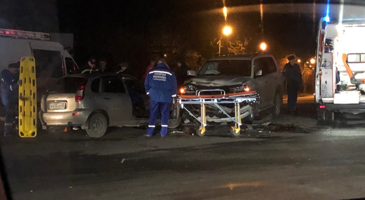 Крупная авария на Содышке: водителя пришлось «вырезать»