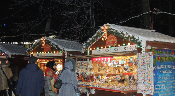 Рождественскую ярмарку уберут с Соборной площади