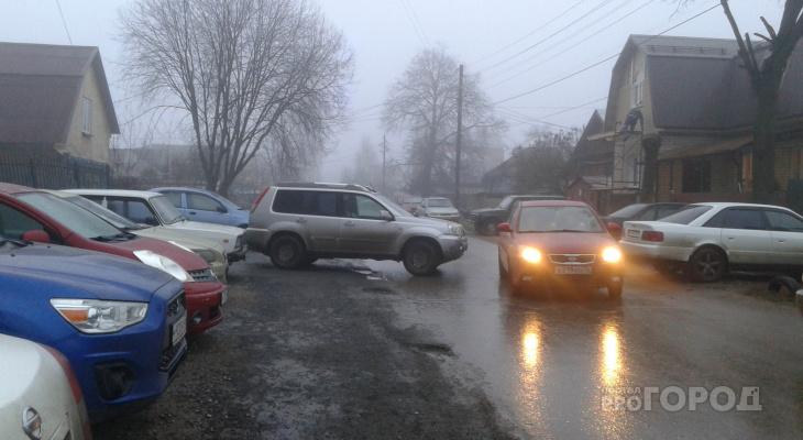 Автомобиль-призрак появился на улице Василисина во Владимире