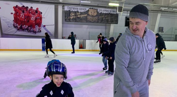 Все на лёд: где покататься на коньках во Владимире?