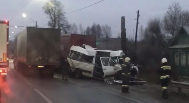 В Ковровском районе произошла крупная авария