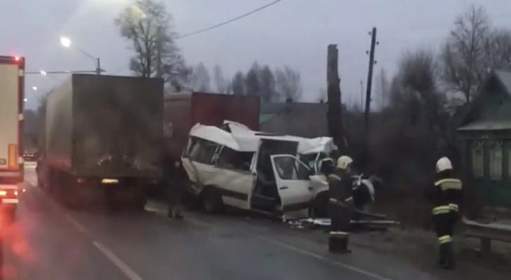 Стали известны подробности утренней аварии в Ковровском районе