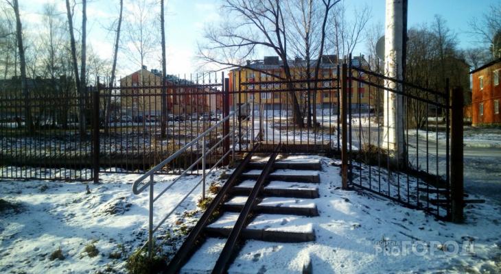 Во Владимирской области обнаружена лестница в «никуда»