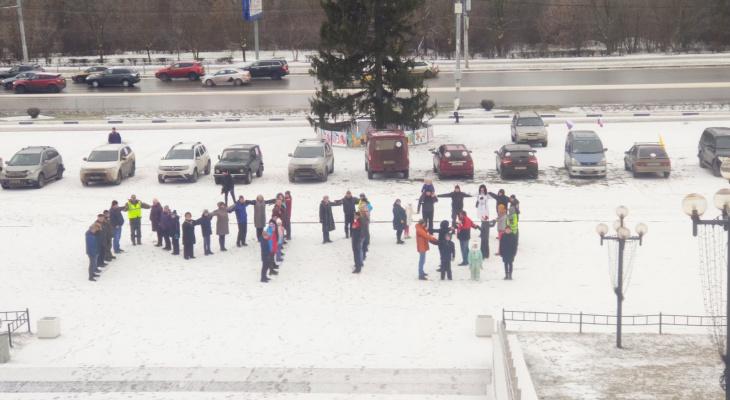 Жители Владимирской области протестуют у Белого дома