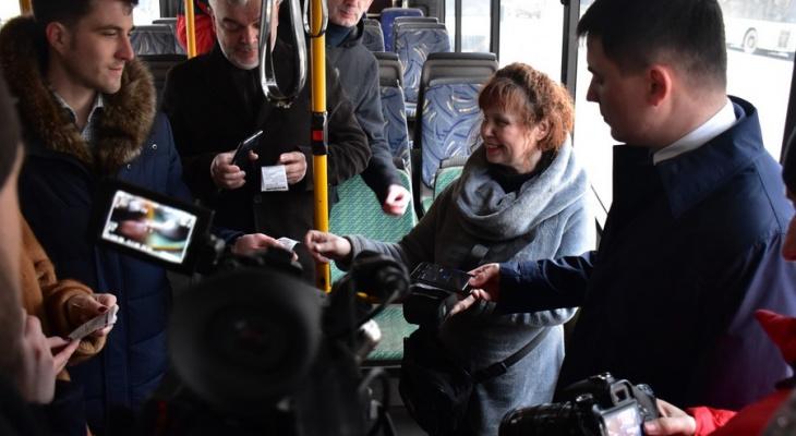 Во Владимире до конца зимы действует скидка на проезд в транспорте