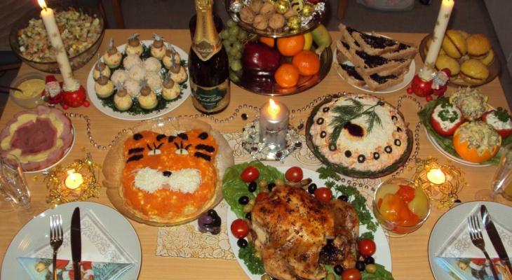 Рождественский стол для владимирцев подорожал на 1,5 процента