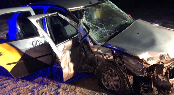 Под Юрьев-Польским столкнулись два автомобиля