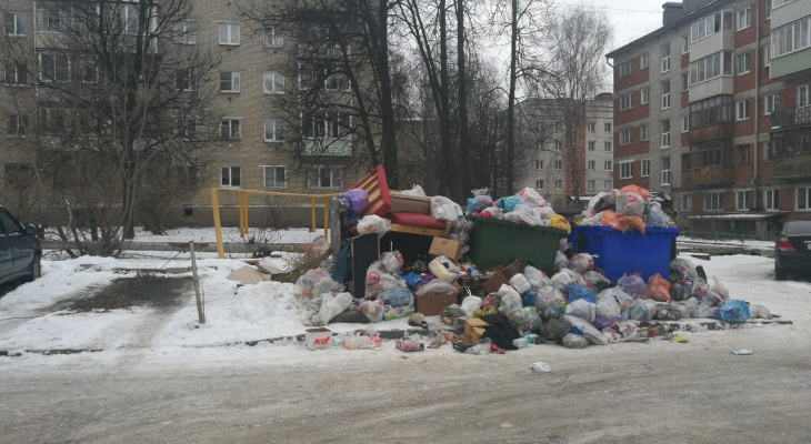 Владимирцы по-прежнему недовольны мусорной ситуацией в городе