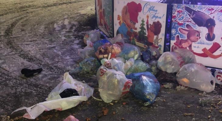 Пресс-секретарь Сипягина прокомментировала выброс мусора под окна Белого дома