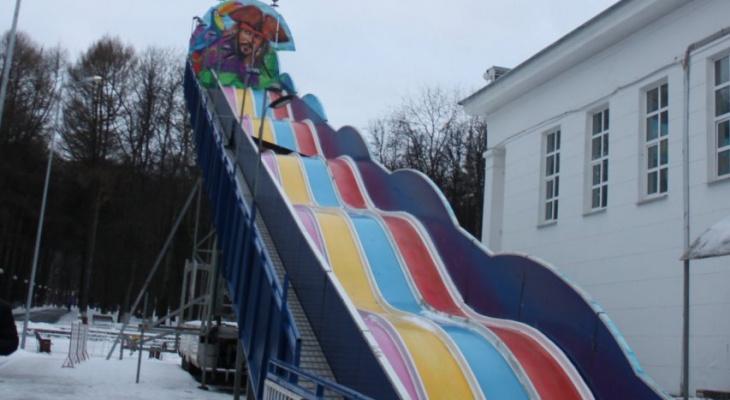Владимирцы считают, что горка в Центральном парке опасна для детей