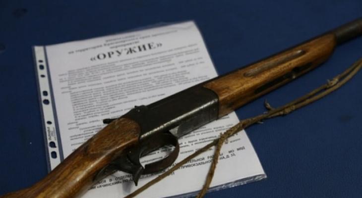 Житель Владимирской области занимался контрабандой оружия