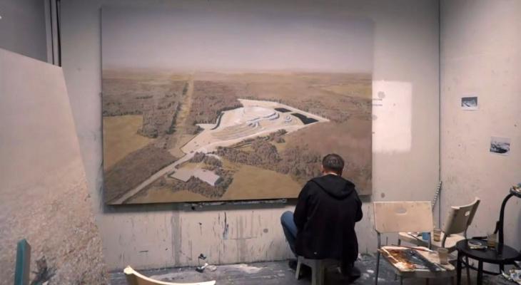 Свалка в Александрове стала произведением искусства