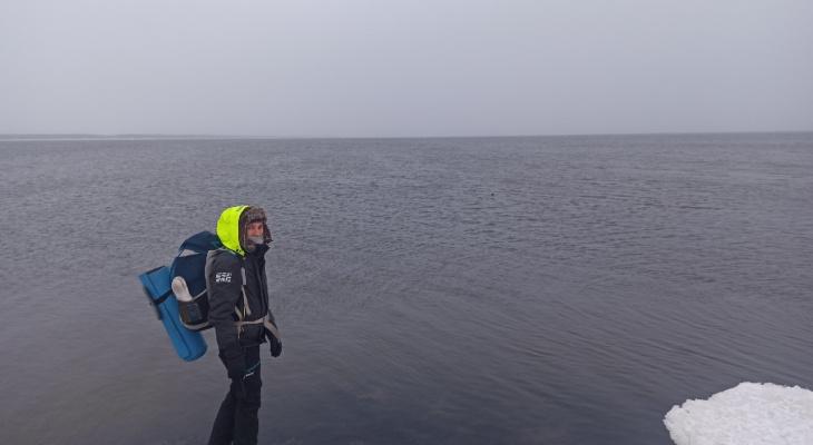 Владимирец доехал автостопом до Северного Ледовитого океана