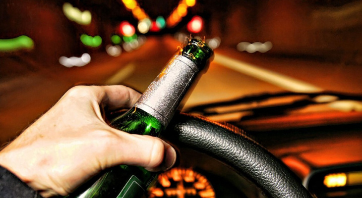 Во Владимире пьяный водитель спровоцировал ДТП в центре города