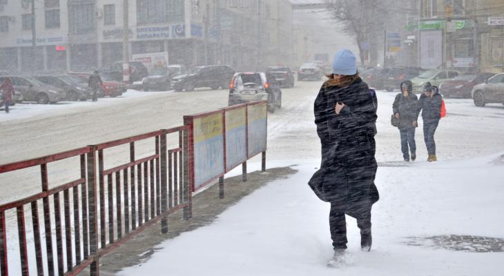 На Владимир надвигается штормовой ветер