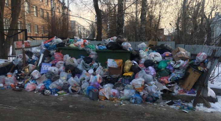 Владимирцам пересчитают тариф за вывоз мусора в январе