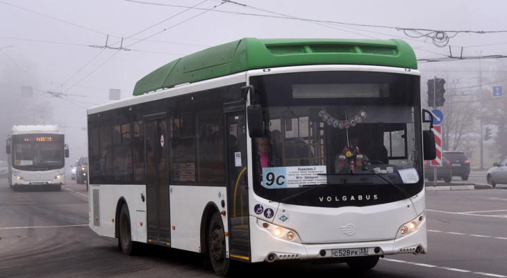 Владимирцы недовольны маршрутом автобуса 9с