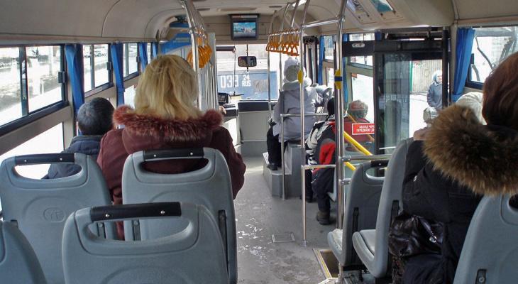 Во Владимире на ходу загорелся автобус с пассажирами