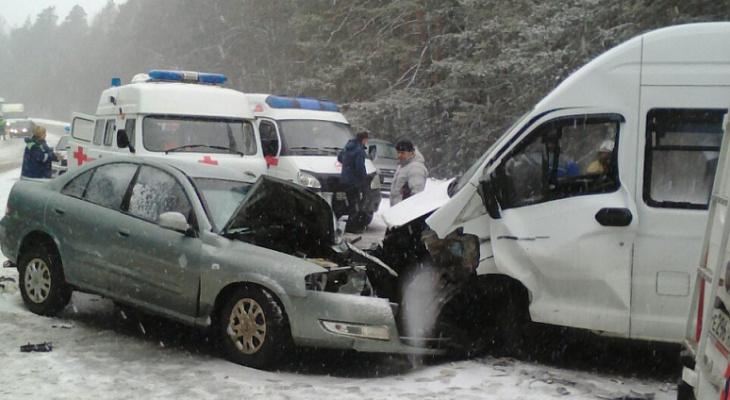 Сегодня в Судогодском районе в аварии погибла женщина