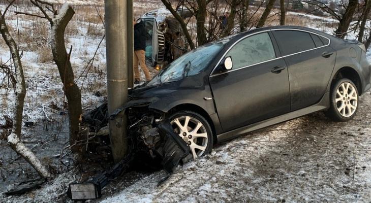 На трассе М-7 во Владимире произошла страшная авария